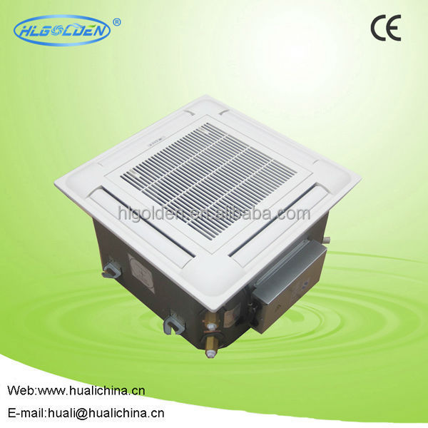 Industrial air conditioner cassette type fan coil unit for cooling / heating