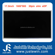AUO B173RTN02.2 Notebook Screen Module 17.3 Inch 30Pin EDP LED Panel 1600*900 Paper Thin Slim Display for Laptop