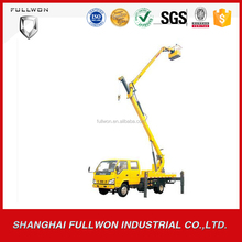 HOT sale XCMG 9.7m lifting high-altitude operation rear lift truck