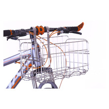 Folding Foldable Kids Front Rear Basket for Tricycle Bicycle Waterproof