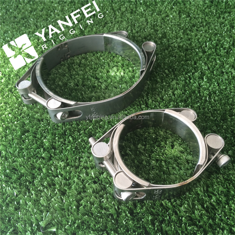 Double Bolts European Type Hose Clamp