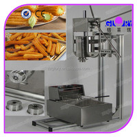 Obvious effective bottom price different types churro machine and fryer