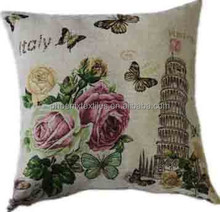 Facy Woven jacquard decorative tapestry cushion