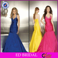 Pakistani Long Royal Blue Prom Dresses