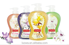 Flower bouquet liquid hand soap