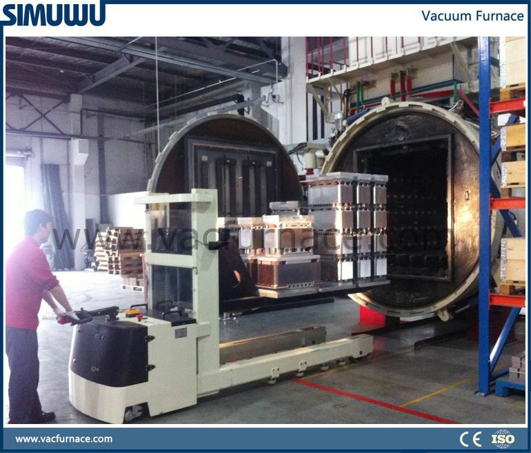 vacuum heat treatment furnace, quenching, hardening, tempering, annealing for 718 PDS-5 Die steel, mould steel