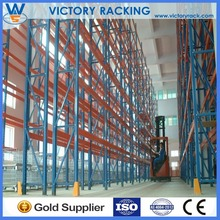 logistic warehouse push back mobile storage racks manufacturer