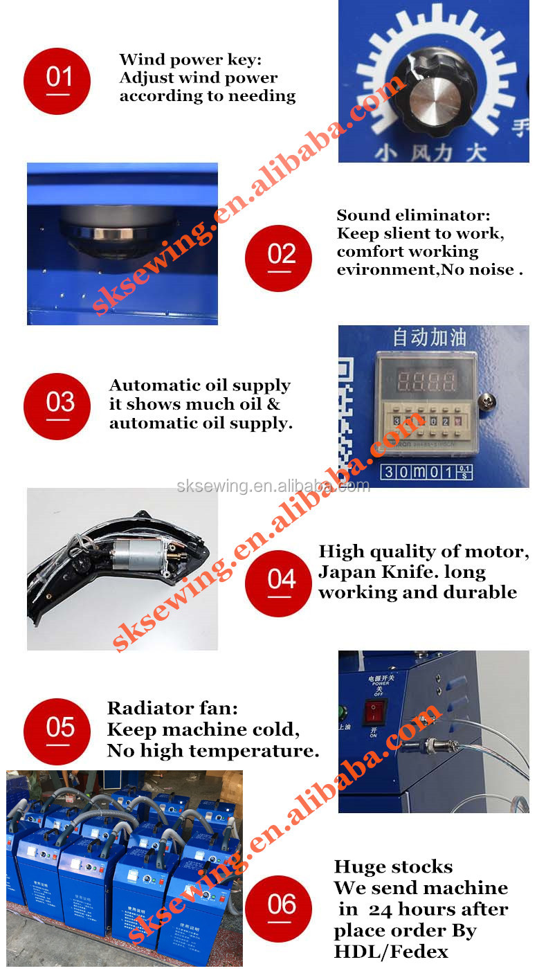 clothing embroidery thread trimmer thread machine for  garments