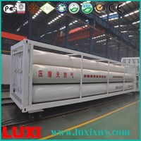 Fiber Glass Cylinder Steel Cylinder Cng Container , Gas Station Equipment