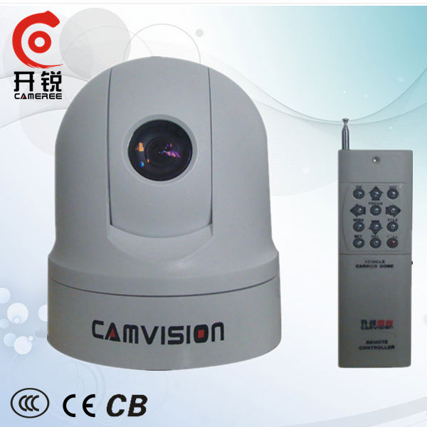 CVVR 2013 New Product The Remote Control-style Digital Intelligent Car PTZ Dome CCTV Security Camera