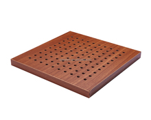 Alibaba China Wooden Perforated Acoustic Panel sound block for home / office