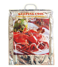 large capacity disposable insulated food delivery cooler bags