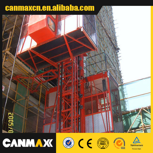 SC100 SPEED 0-33,MAX.HEIGHT 120M CANMAX construction elevator