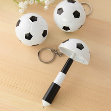 retractable pen retractable cord football ballpoint pen