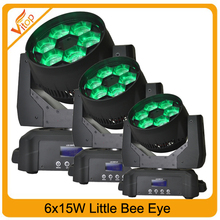 Club lighting from china dage lighting rgbw 4in1 6pcs*15w moving head dage light