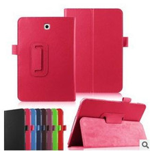 Magnetic Lychee Pattern PU Leather Folio Case Tablet PC Flip Covers Stand for Samsung Galaxy Tab 4 7.0 T230