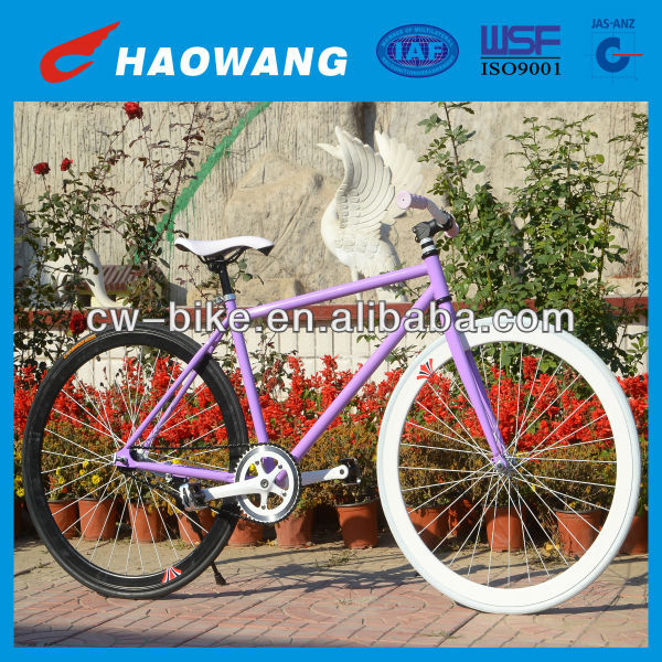 China Good Quality Mixed Color Steel Specialized Single Speed Fixed Gear Road Bike