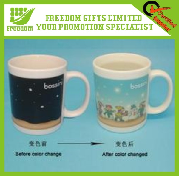 Custom 2014 New Product Temperature Cup Change Color
