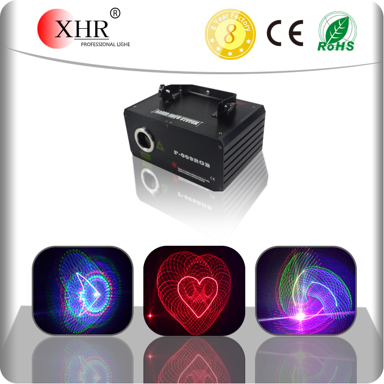 Disco DJ Equipment,Mini RGB 3D Dynamic Holographic Laser Light Projector