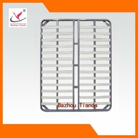 high quality steel pipe slatted bed frame from China factory