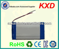 rechargeable lipo battery 7.4v 3500mah for two way radio