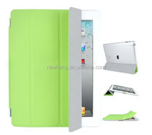 Slim Magnetic Smart Cover Wake/Sleep PU Stand Case for iPad 2/3