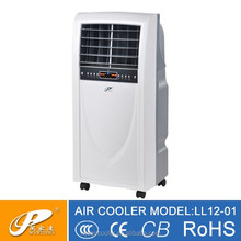 Middle size pull-out water tank electric fan different panel