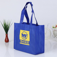 wholesale customized purple eco friendly bag reusable shopping bags