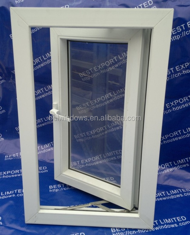 Guangdong Factory Price Conch Brand Toughened Glass UPVC Casement Windows