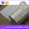 Factory price wholesale custom gift wrapping paper with metallic design