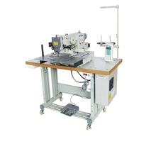 economic price computer controlled logo leather sewing machine