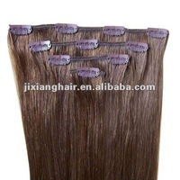 First Class Remy clip in human hair/Factory Cheap Price Clip in Human Hair Accept Paypal