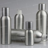 aluminium non-breakable cocktail mix bottle large round