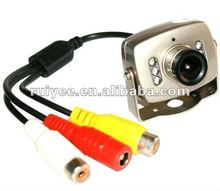 RY-208C New Mini Hidden Color Wired IR Security Micro 1/4 CMOS CCTV Camera