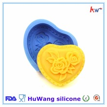 Wholesale custom food grade silicone candle molds