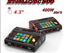 200W 20A 6S RC Lipo Battery Charger HT206AC/DC DUO with Touch screen for Airgun/Thunder T6/Helicopter