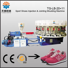 rotary shoe injection machine 16 stations PVC shoe making machine