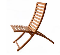 2015 comfortable folded bamboo long chair