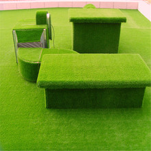 Factory supply outdoor synthetic grass carpet artificial grass turf moss wall decoration wheat grass