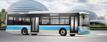High Quality RHD 12 meters Pure Electric City Bus