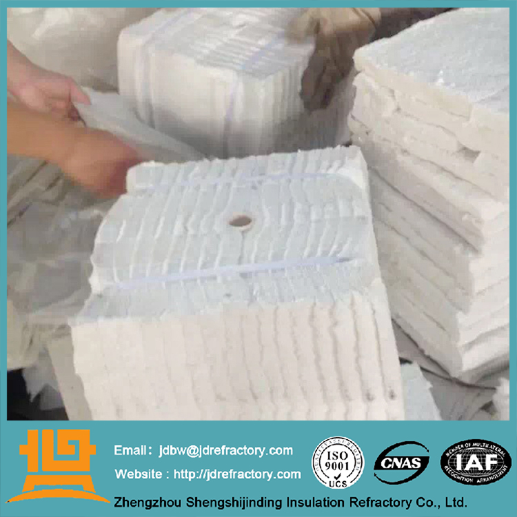 Excellent thermal stability and good resistance to heat shock ceramic fiber block used kiln ceramic fiber module definitions