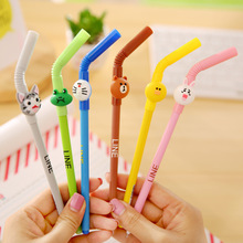 Promotion gift colorful cartoon design plastic customized ballpoint pen