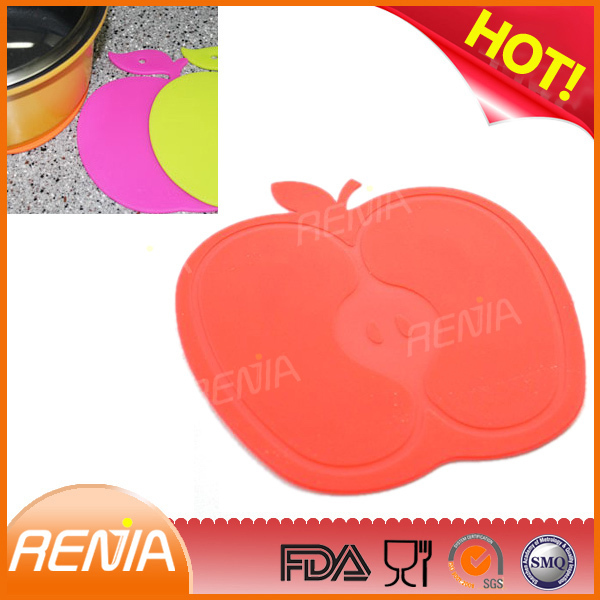 RENJIA food safe silicone rubber mats fruit and vegetable mat fruit table mats