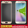 factory supplier mobile phone curved tempered glass protector for samsung galaxy s6 edge
