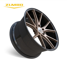 "Zumbo-A0073 Sand blast bronze(face)+black 20 inch alloy rim alloy wheels rims 20"" blank alloy wheel with pcd 108"