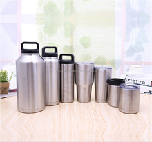wholesale double wall insulated tumbler stainless steel vacuum insulated water bottle steel beer cup shaker bottle