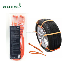 ZipClipGo Bad Weather Tire Traction Cleats Chain Snow Anti Ice Mud for Car Van SUV