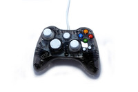 Wired Transparent PC Game Controller For Xbox 360 Controller Supports Windows XP/Vista/Win 7/8 System With LED Light