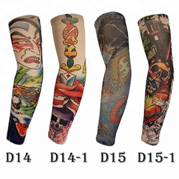 KaPin tattoo 3D digital printing classic sports UV protective arm sleeve