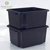 Popular design multi size stackable storage crates plastic